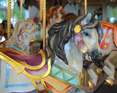 Hager Wall Art - Photograph - Hampton Carousel No. 5a by Greg Hager