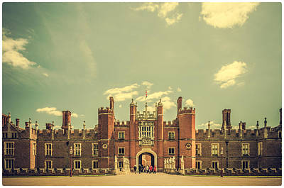 Photograph - Hampton Court Palace Gardens by Lenny Carter