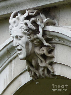 Catherine Howard Photograph - Hampton Court Palace Medusa by Deborah Smolinske