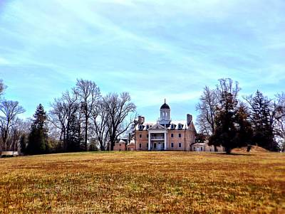 Photograph - Hampton Mansion by Chris Montcalmo