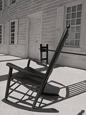 Photograph - Hampton Plantation House Echo by Deborah Smith