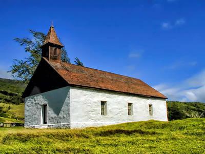 Photograph - Hana Church 1 by Dawn Eshelman