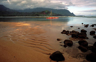 Hanalei Bay At Dawn Art Print