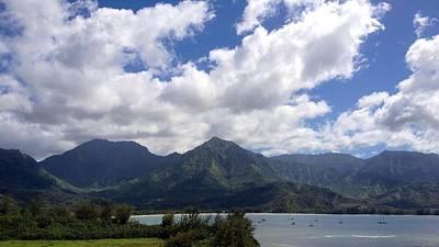 Photograph - Hanalei Bay II by Alohi Fujimoto
