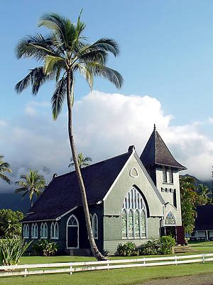Hanalei Church 2 Art Print