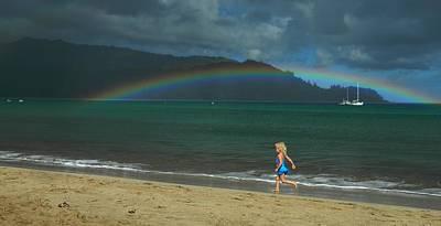 Kauai Girl Photograph - Hanalei Dreams by James Dudrow