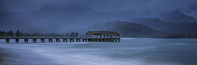 Photograph - Hanalei Pier by Frederick H Claflin