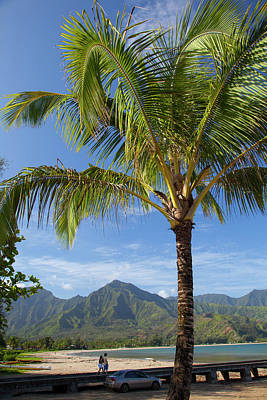Hanalei Photograph - Hanalei Pier, Hanalei, Kauai, Hawaii by Douglas Peebles