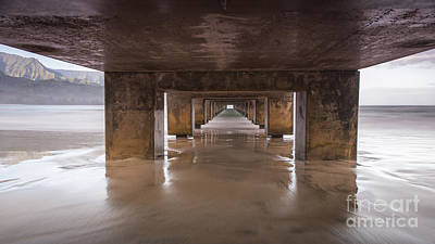Photograph - Hanalei Pier Kauai Hawaii by Dustin K Ryan