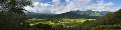 Photograph - Hanalei Valley Panorama - Kauai Hawaii by Brian Harig