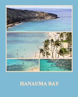 Photograph - Hanauma Bay by AJ  Schibig