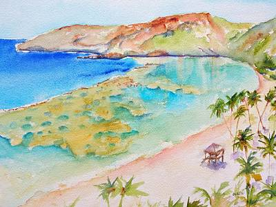 Hanauma Bay Art Print by Carlin Blahnik