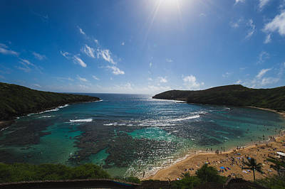 Hanauma Bay Art Print by Hisao Mogi