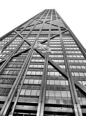 Hancock Building Wall Art - Photograph - Hancock by David Bearden