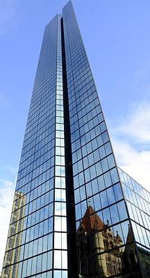 Photograph - Hancock Tower by Corinne Rhode