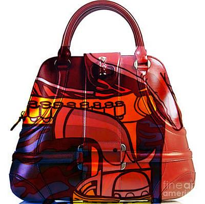 Shoe Mixed Media - Hand Bag Pop Art by Marvin Blaine