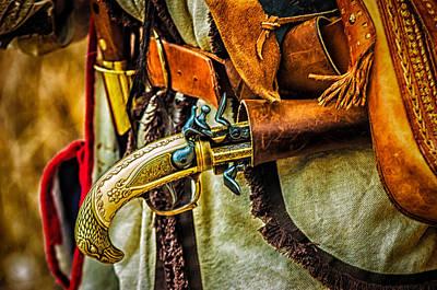 Photograph - Hand Gun by Louis Dallara