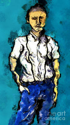 Painting - Hand In Pocket by Nicole Philippi