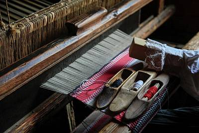 Hand Loom Print by Photostock-israel