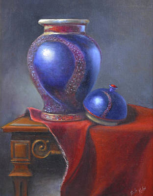 Painting - Hand Make Vase  by Rich Kuhn
