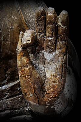 Gautama Photograph - Hand Of Buddha by Daniel Hagerman