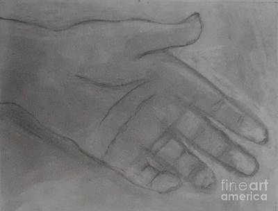 Sketches Etc Drawing - Hand Of God by James Eye