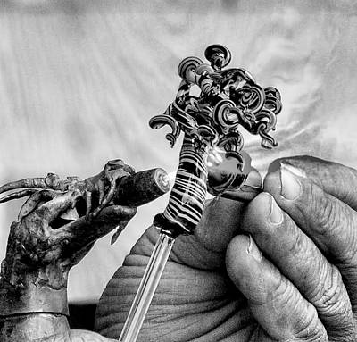 Photograph - Hand Of The Artisan by Ron Grafe