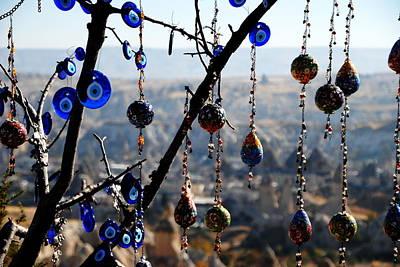 Handicrafts In Cappadocia Art Print by Jacqueline M Lewis