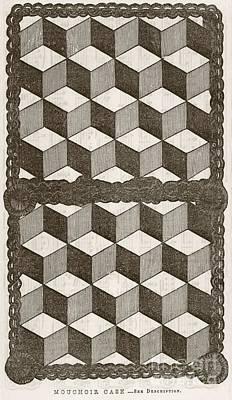 Handkerchief Case, 19th Century Art Print by Mid-manhattan Library