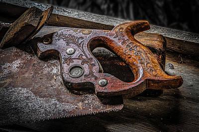 Handle On The Saw  Art Print