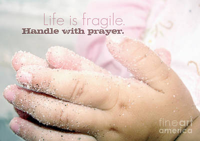 Photograph - Handle With Prayer by Valerie Reeves