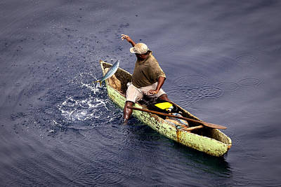 Photograph - Handline Fisherman by Gregory Daley  MPSA