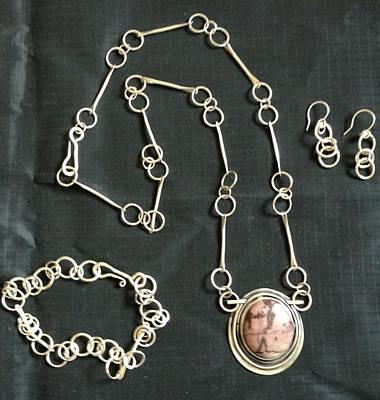 Sterling Silver Bracelet Jewelry - Handmade Chains by Lynette Fast