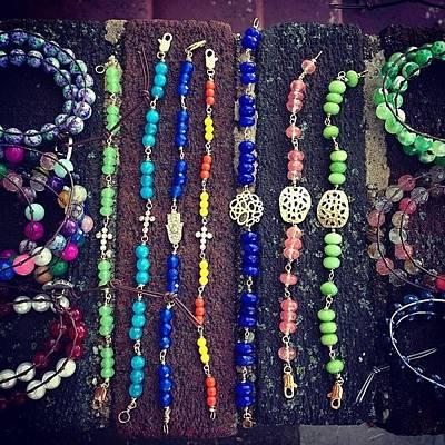 Jewelry Photograph - #handmade #fashion #jewelry #etsy by Tetyana Gobenko