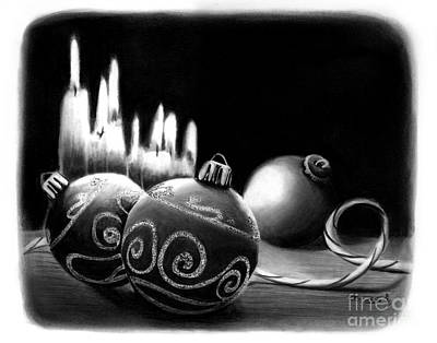 Drawing - Handmade Ornaments     by Peter Piatt