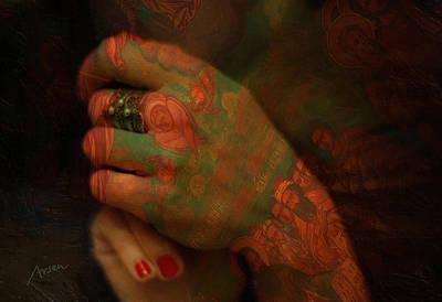 Hands Art Print by Arsen Arsovski