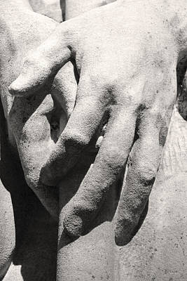 Photograph - Hands by Felix Concepcion