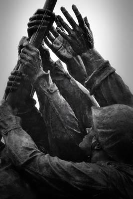 Photograph - Hands Of Iwo Jima by Nadalyn Larsen