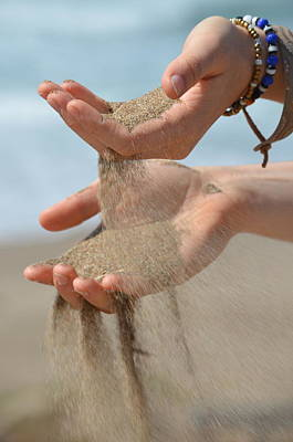 Photograph - Hands Of Sands by Deprise Brescia