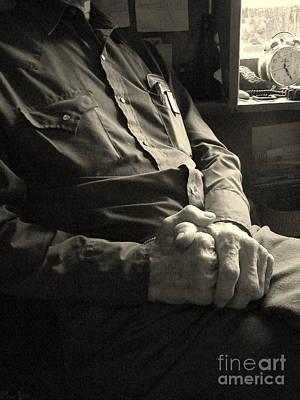 Hands Of Time Art Print by Joe Jake Pratt