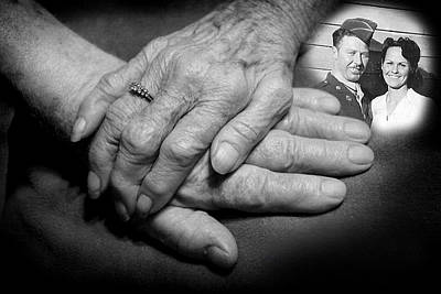 Art Print featuring the photograph Time On Our Hands by Shirley Heier