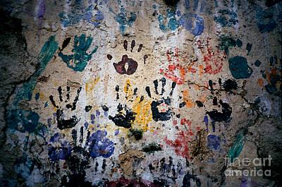 Hands On Wall Art Print by Eva Kato