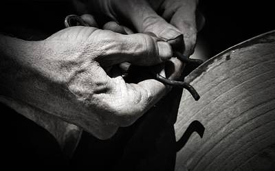 Photograph - Hands To The Grinding Wheel by Nadalyn Larsen