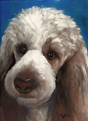 Parti Painting - Handsome Boy by Rachel Fogle