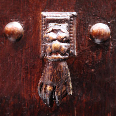 Photograph - Handy Door Knocker by David Davies