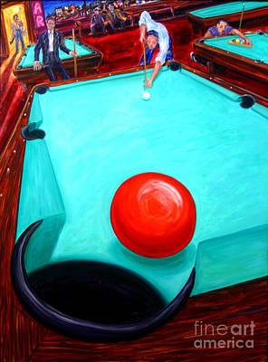 Pool Painting - Hanger by Arthur Robins