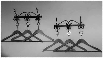 Photograph - Hangers by Dany Lison