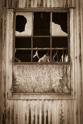 Photograph - Hangers In The Window by Randy Bayne