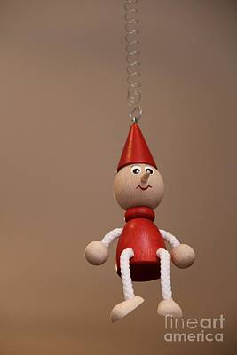 Puppet Photograph - Hanging Around by April Antonia