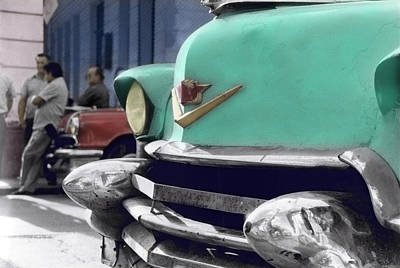 Photograph - Hanging Around The Cars by Ulf Sandstrom